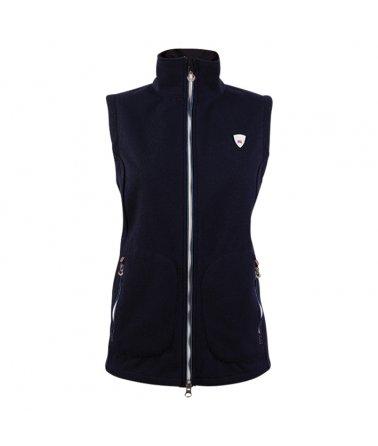 Dámská sportovně elegantní vesta s Knitshellem Dale Hafjell
