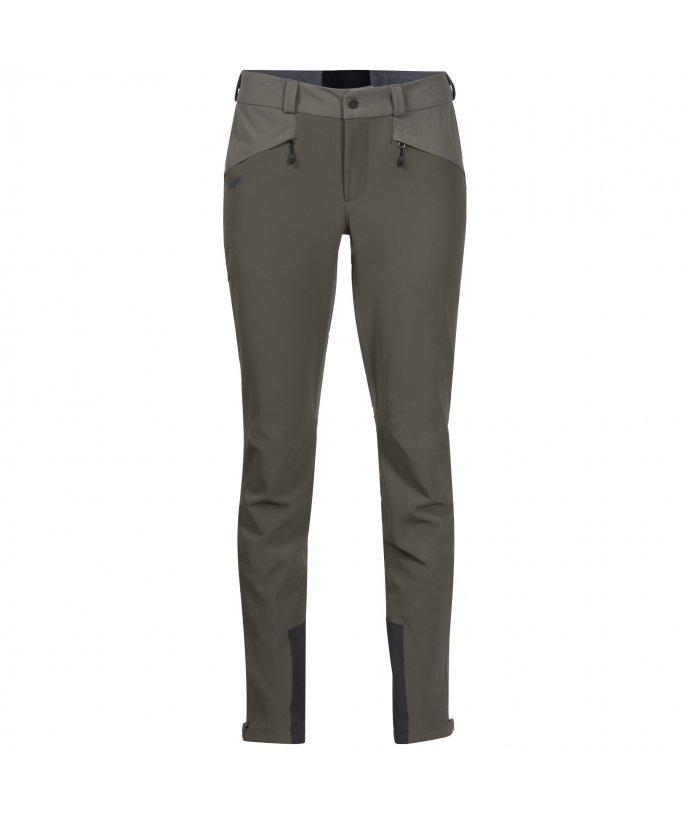 Dámské softshellové kalhoty Bergans Rabot 365 Warm Flex W Pnt