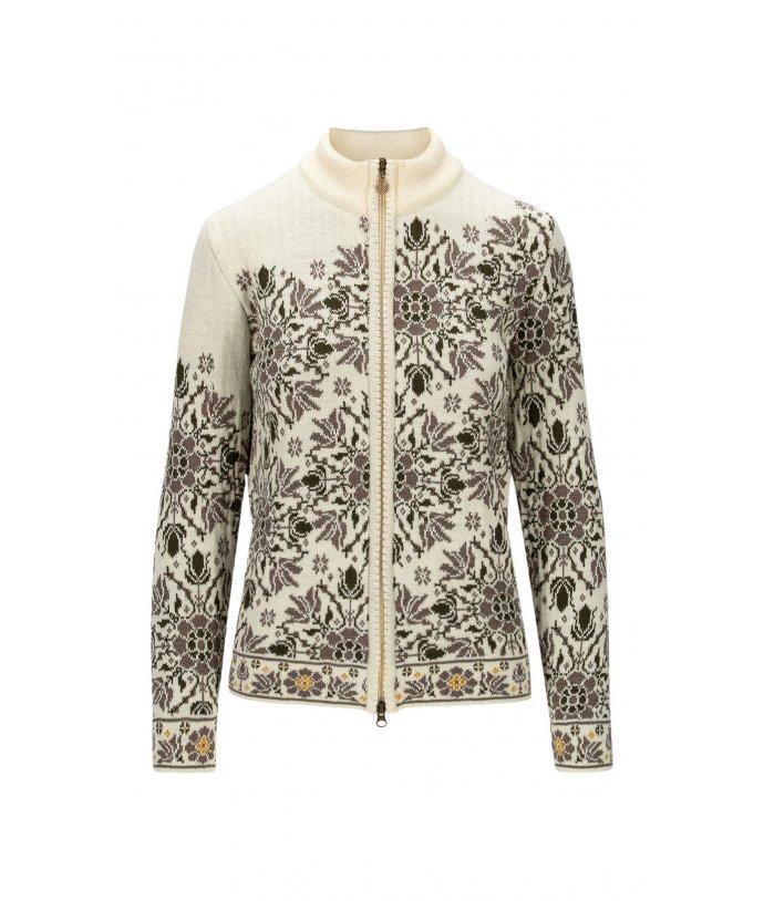 Dámský květovaný svetr Dale Kvinesdal Feminine Jacket