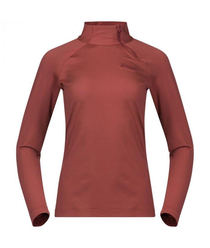 Dámský lyžařský pulover Bergans Stranda Women Half Zip