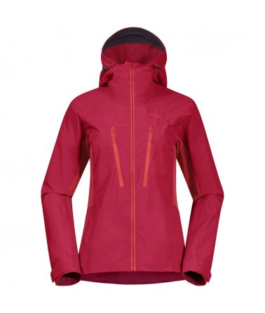 Dámská softshellová bunda Bergans Cecilie Mountain Softshell Jacket