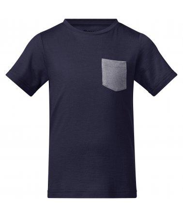 Dětské Merino tričko Bergans Myske Wool Kids Tee