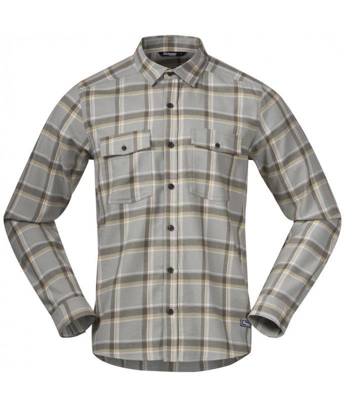 Pánská flanelová outdoorová košile Bergans Tovdal