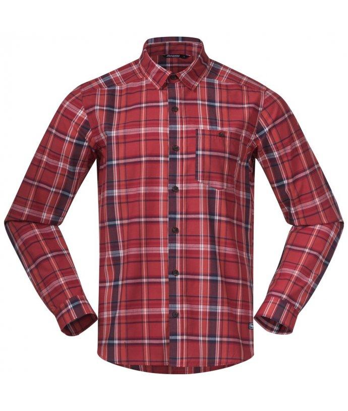 Pánská bavlněná košile Bergans Kikut Shirt