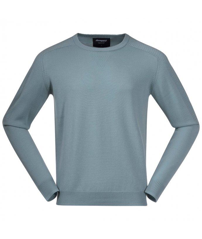 Pánský lehký svetr z Merino Bergans Solli Wool Sweater