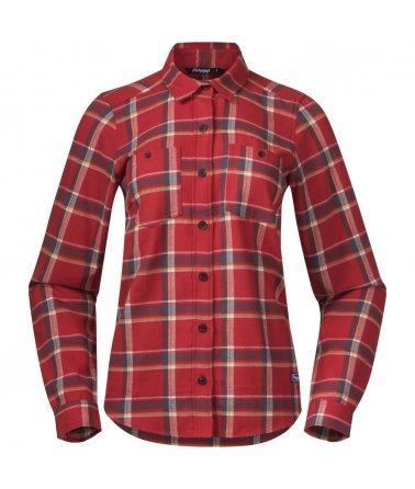 Dámská flanelová outdoorová košile Bergans Tovdal W Shirt