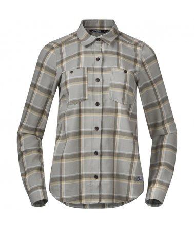 Dámská bavlněná outdoorová košile Bergans Tovdal W Shirt