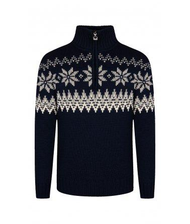Pánský klasický vlněný svetr Dale Myking
