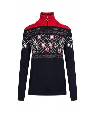 Dámský vlněný svetr Dale Podium Fem Sweater