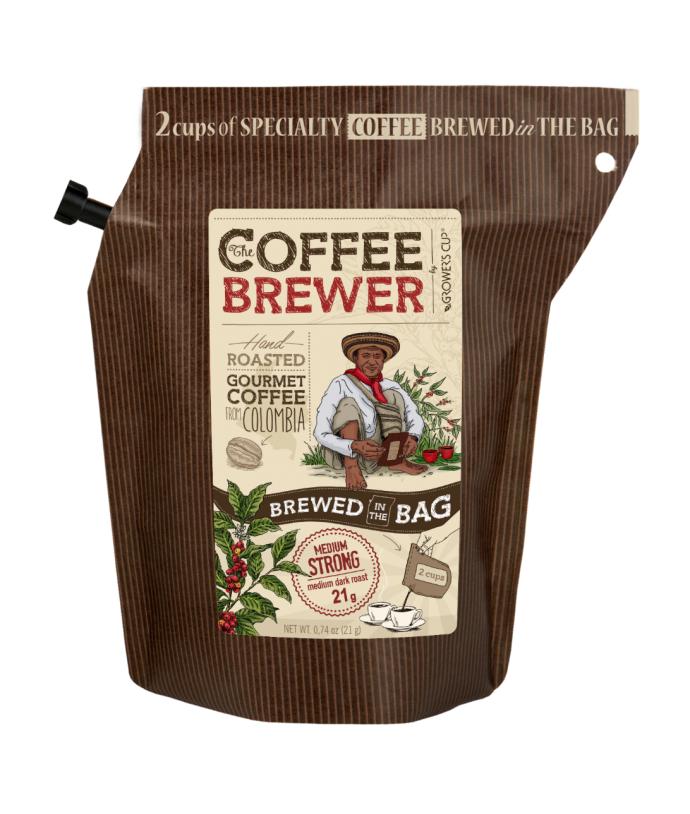 Grower's Cup lahodná káva v originálním balení, Colombia