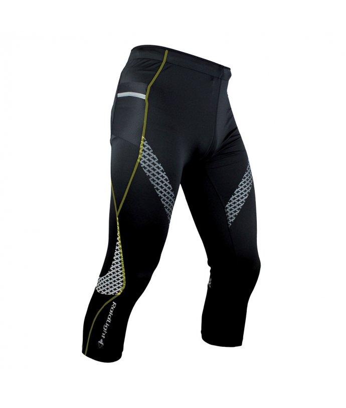 Pánské pohodlné běžecké 3/4 kalhoty Raidlight 3/4 Trail