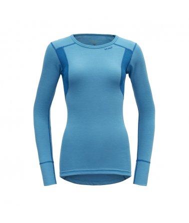 Dámské sportovní lehké vlněné triko s dlouhým rukávem Devold Hiking