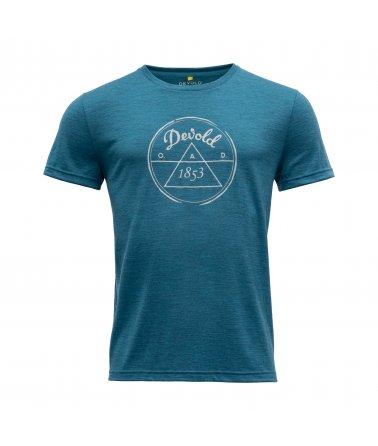 Pánské tričko s krátkým rukávem Devold 1853 Man Tee