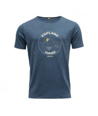 Vlněné tričko s krátkým rukávem Devold Explore More