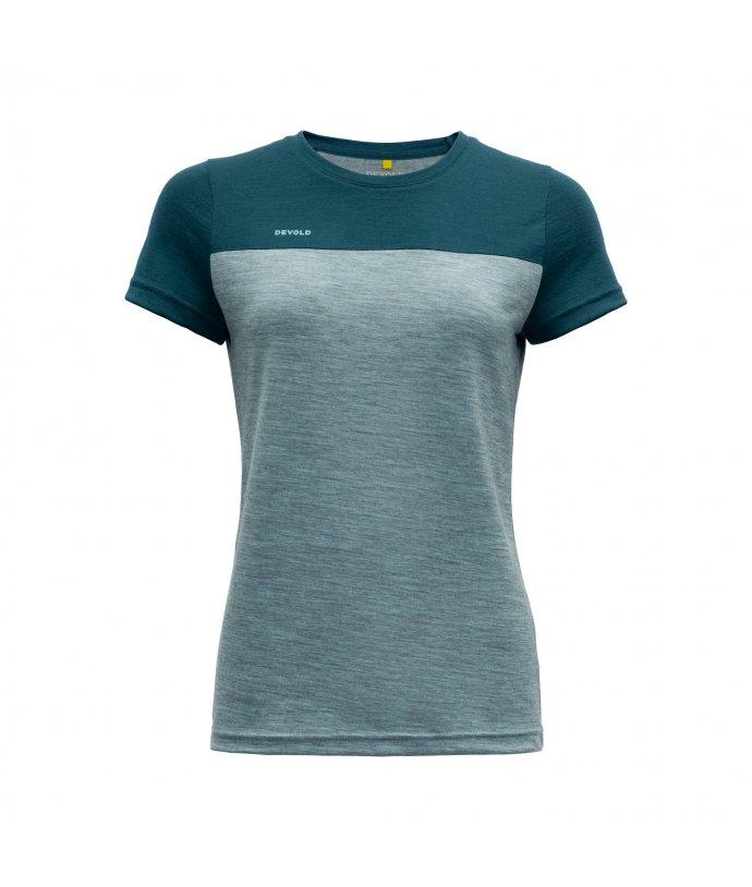 Dámské tričko s krátkým rukávem Devold Norang
