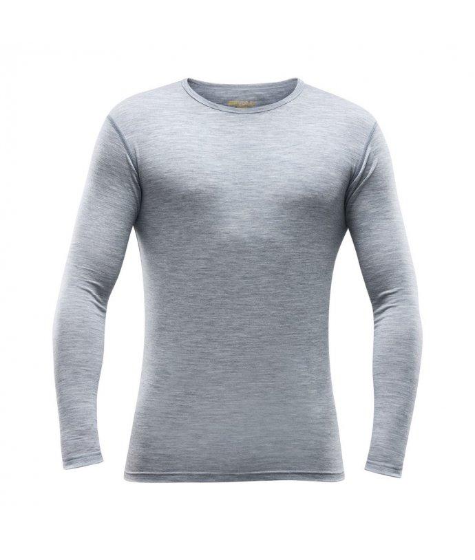 Pánské vlněné tričko s dlouhým rukávem Devold Breeze