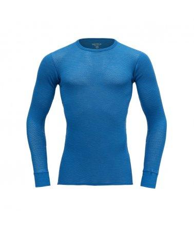 Pánské vysoce prodyšné vlněné triko s dlouhým rukávem Devold Wool Mesh