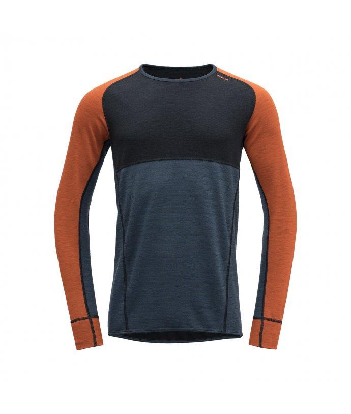 Oboustranné vlněné triko Devold Kubbane