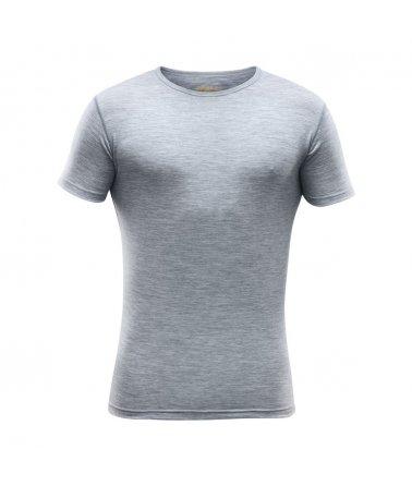 Pánské super lehké pohodlné vlněné tričko Devold Breeze