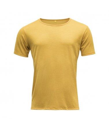 Vlněné tričko s krátkým rukávem Devold Sula