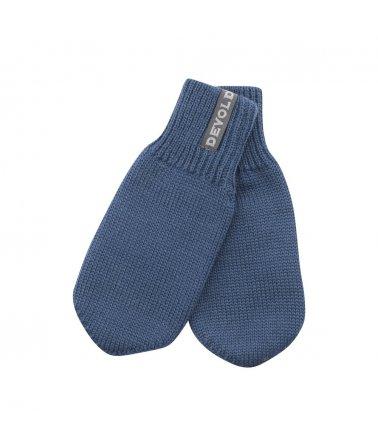 Dětské velmi teplé vlněné rukavice Devold Nansen