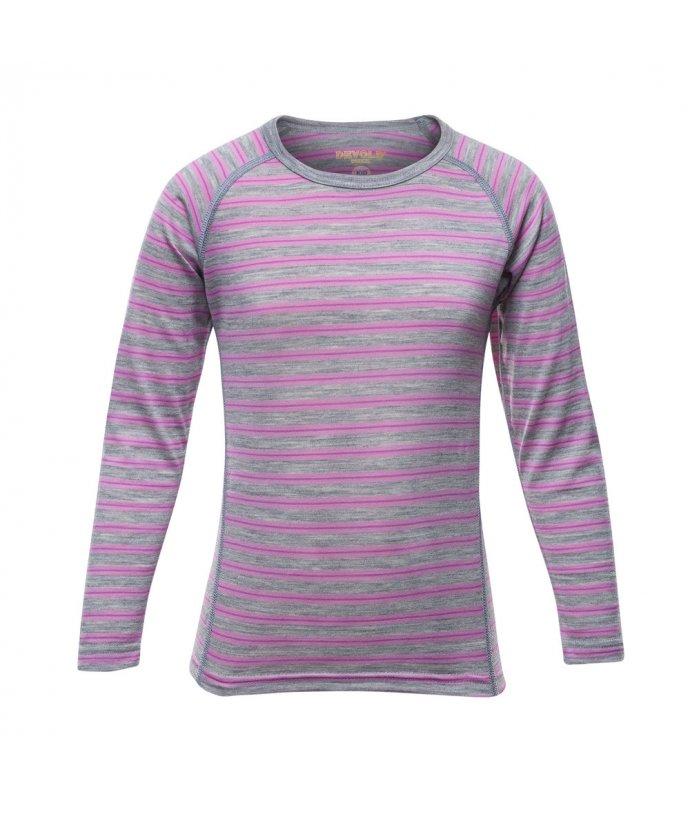 Dětské super lehké pohodlné vlněné triko Devold Breeze