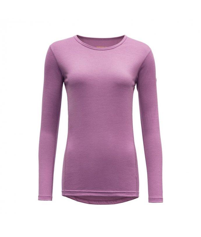 Vlněné tričko s dlouhým rukávem ze 100% merino vlny