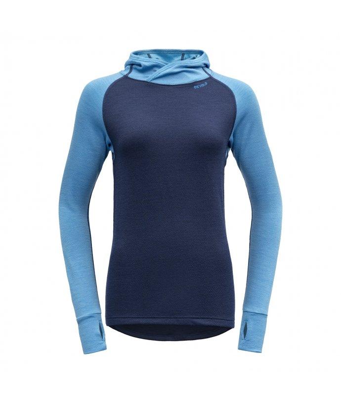 Dámské velmi teplé vlněné triko s kapucí Devold Expedition