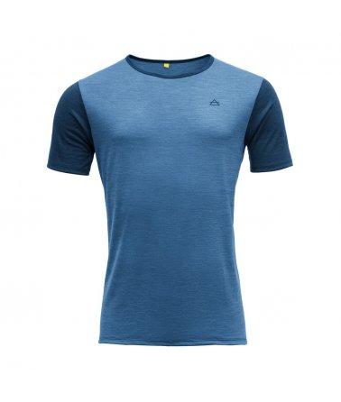 Vlněné tričko s krátkým rukávem Devold Sandoy