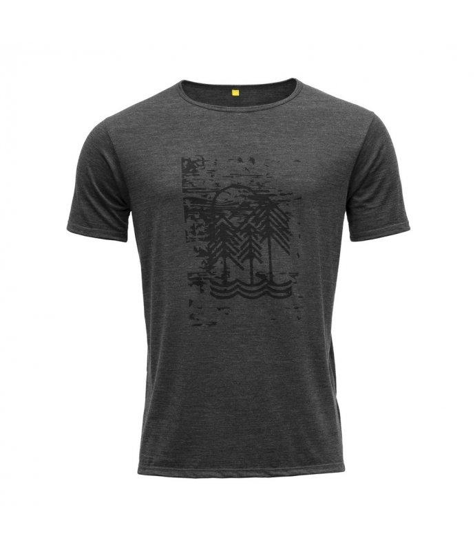 Vlněné tričko s krátkým rukávem Devold Flesje