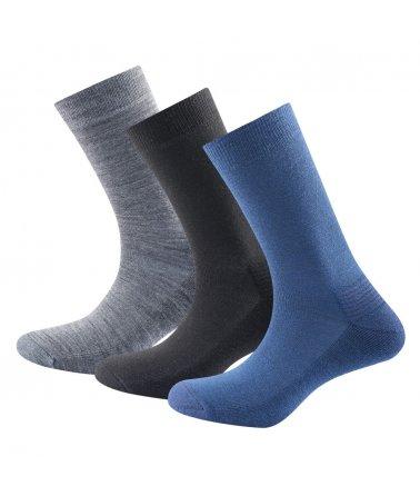 Středně silné vlněné ponožky Devold Daily Medium