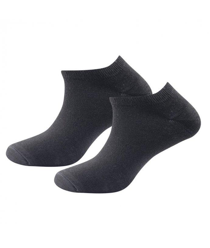 DEVOLD® DAILY SHORTY sock 2PK, 2 páry ponožek, unisex