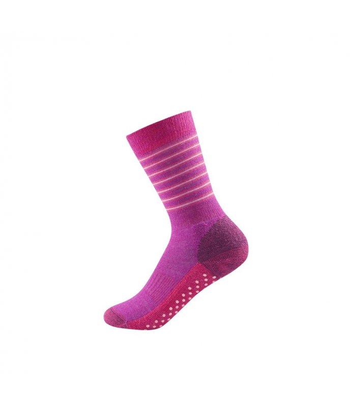 Dětské středně teplé vlněné ponožky Devold Multi Medium
