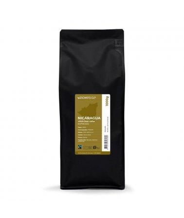 Celá zrna - Nikaragua, PROCAFE 1000g. Espresso, Fairtrade a organické.