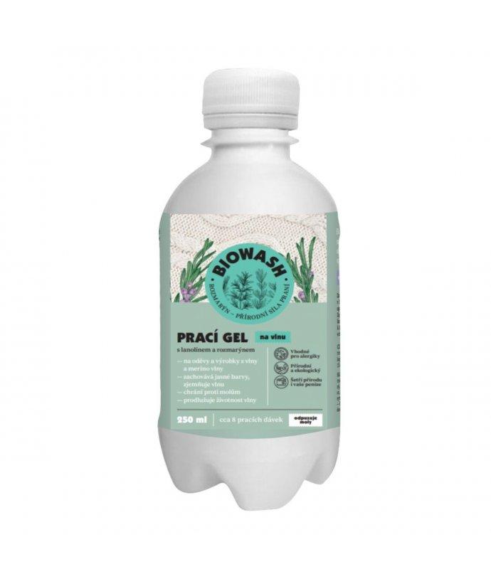 Prací gel na vlnu s rozmarýnem a lanolínem