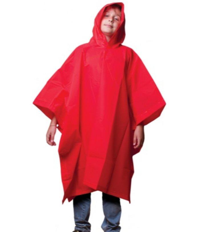 Dětská pláštěnka, pončo, s kapucí Frendo Junior Eva poncho