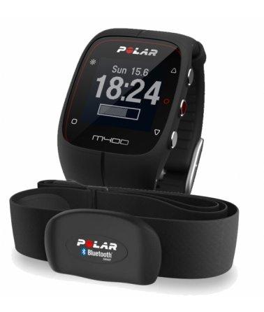 POLAR M400 HR Sportovní hodinky, černé