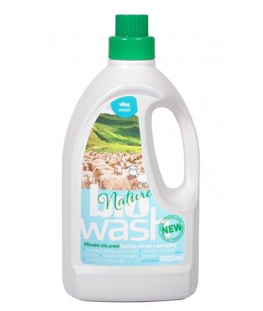Biowash prací gel, vlna, 1500ml